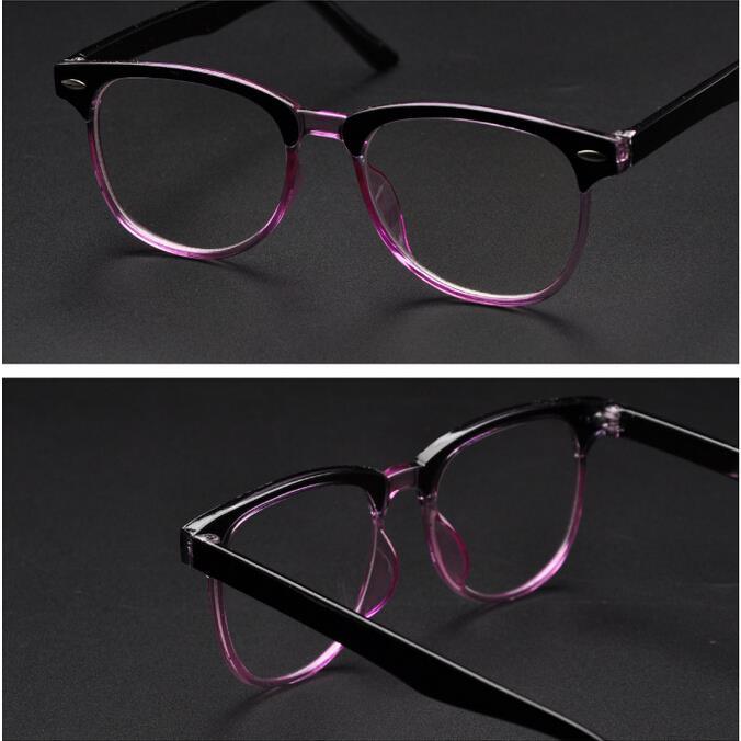 ⑦Nueva moda Retro miopía gafas marcos marca hombres mujeres gafas ...