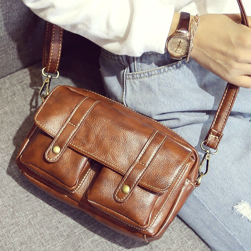 2017 Retro Women Messenger Bags Bolsas Antiquated Bag Vintage Small Bag Crossbody Mobile Women