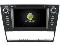 Android 7.1 de Áudio DO CARRO DVD player PARA BMW Série 3 E90/E91/E92/E93 gps Multimídia carro dispositivo receptor apoio DVR WI-FI DAB OBD
