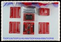 Free Shipping TSOP32 40 48 IC Adapter Sockets For TL866A TL866CS Programmer TSOP32 TSOP40 TSOP48 6pcs