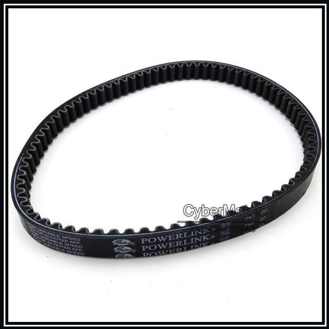 Genuine Powerlink Performance 743 20 30 CVT Drive Belt For GY6 125cc 150cc Engine Moped Scooter ATV Quad