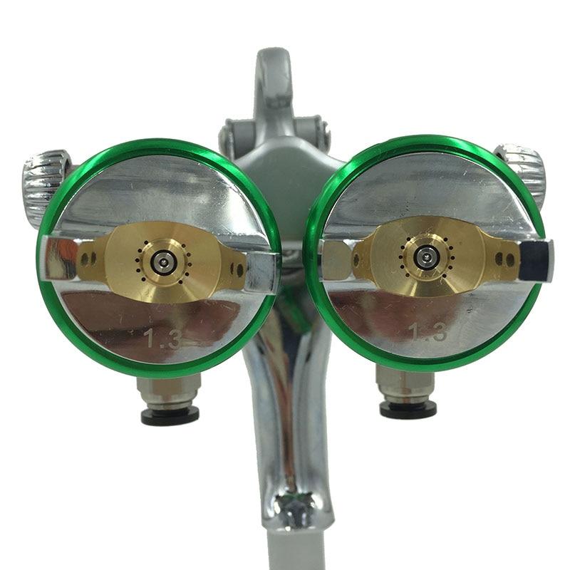 SAT1189 nano krómfestékszóró pisztoly nagynyomású kettős - Elektromos kéziszerszámok - Fénykép 3