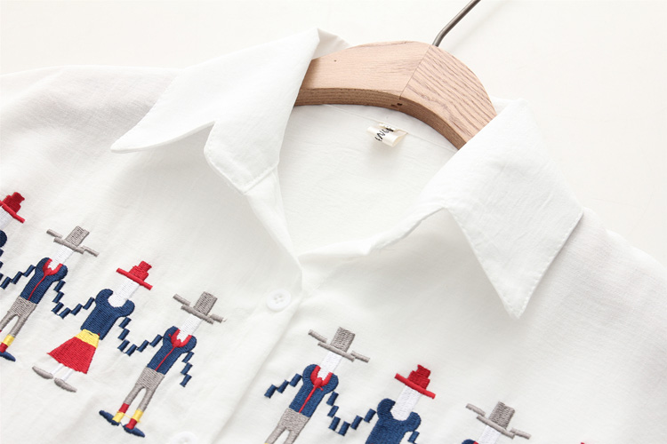 Solto Camisas Encabeça Nazan 8
