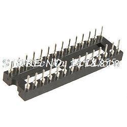 Тип припоя двухрядный 28-контактный PCB плата DIP IC Разъем адаптер узкий