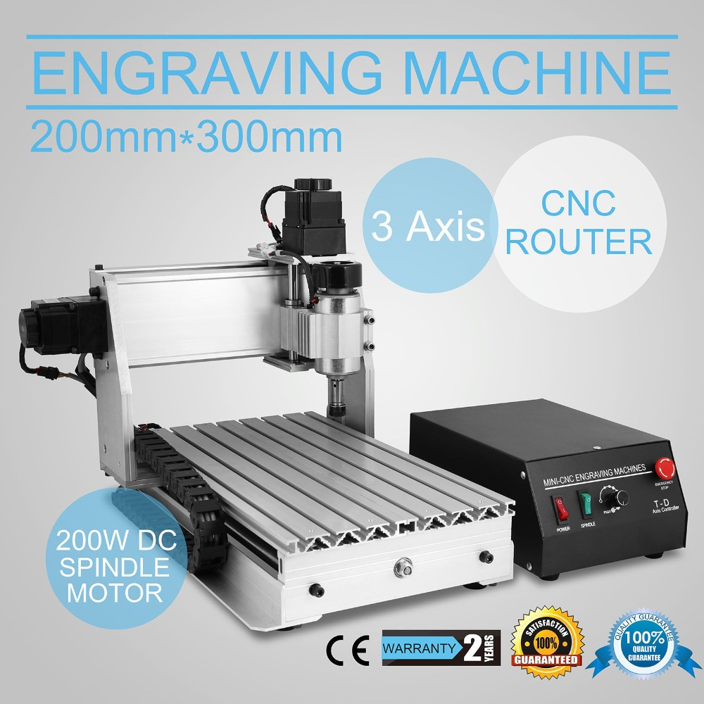 CNC 3020T 3 AXIS ROUTER ENGRAVER ENGRAVING MACHINE DRILLING MILLING ARTS POPULAR top