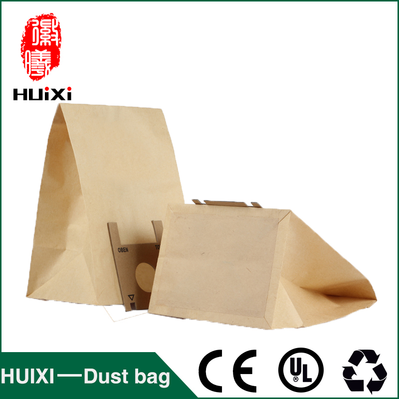38mm Vacuum cleaner paper dust bags and filter bags with high quality of household vacuum cleaner parts for RS708 RS708D etc 65mm universal vacuum cleaner dust paper bags with good quality of household vacuum cleaner parts for wd3 200 wd3 300 etc