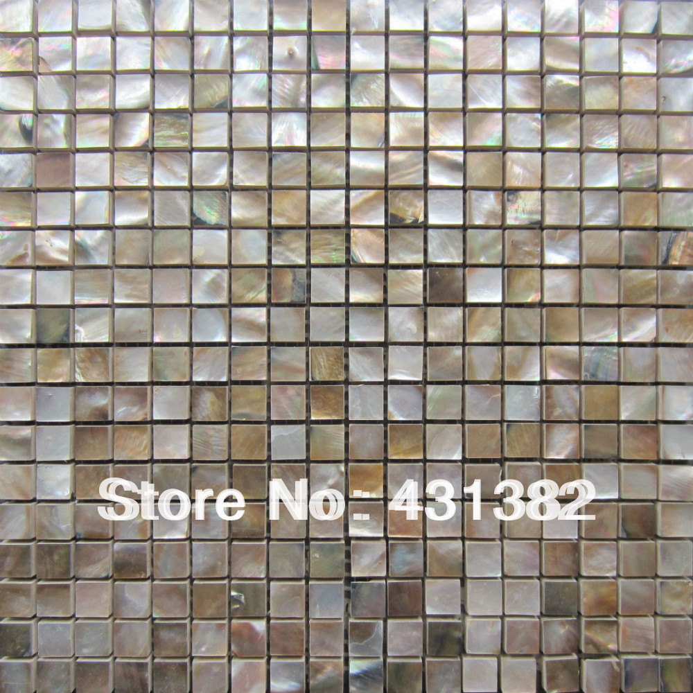 Factory Direct Pricing Hyrx Shell Mosaic Tile Penguin Shell With