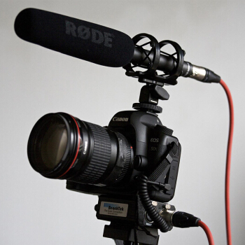 Rode NTG-2 Interview Video Camera Multi-Powered Shot Gun Microphone For Canon Nikon Sony Panasonic Camera DSLR