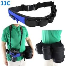 JJC многофункциональный регулируемый Камера пояс ремень карман для объектива сумка штатив монопод молния Пряжка путешествий Восхождение Езда
