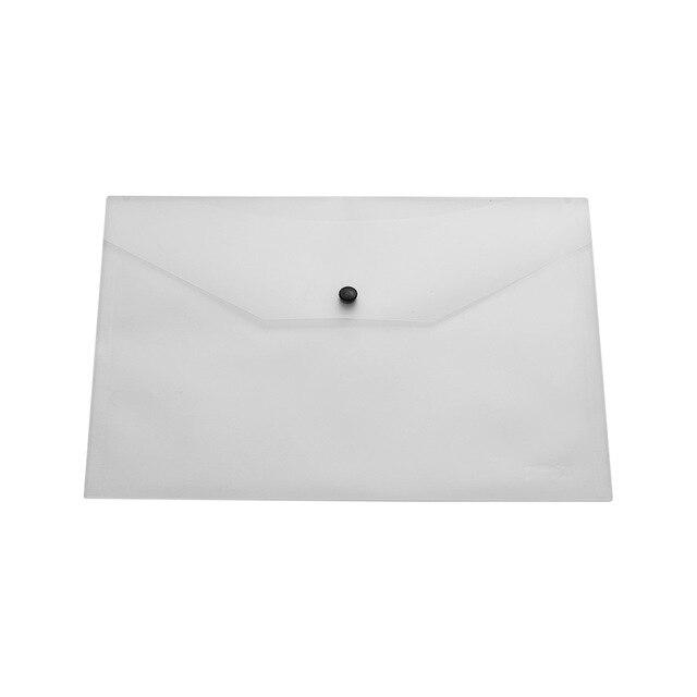 Plastic Clear Waterproof File Portfolio Envelope Document Holder