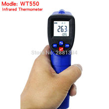 Digital Infrared Thermometer -50~550 Degree Non-Contact IR Pyrometer Hand Industrial Laser Temperature Meter Thermometer цены