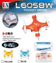 High quality Mini rc  Helicopter Wifi FPV Transmission Camera RC drone 3D Flip RC Quadcopter  Hobby Mobile Control Children Toy