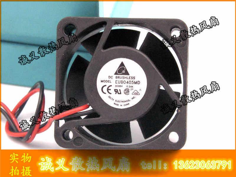 الأصلي 4 سنتيمتر التبديل مروحة EUB0405MD 4020 5 فولت 0.24A حقيقية خط نيت 2 40X40X20 مللي متر
