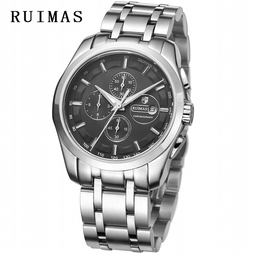 Relogio Masculino RUIMAS 2018 Men Wristwatches Quartz Watch Unique Top Brand Wrist Watch Mens Watches Erkek Kol Saati apr1604 yazole brand lovers watch women men watches 2017 female male clock leather men s wrist watch girls quartz watch erkek kol saati