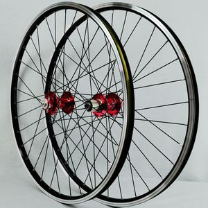 Image 4 - MTB Wheelset Novatec 허브가있는 26 바퀴 4 베어링 Joytech 041/042 32 홀 7 8 9 10 속도 카세트 용 산악 자전거 휠