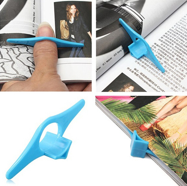 1PCS Rare Sale Bookmarks Thumb Book Holder Bookmark Finger Ring Markers For Books Stationery Gift The Convenient Tool Of Reading