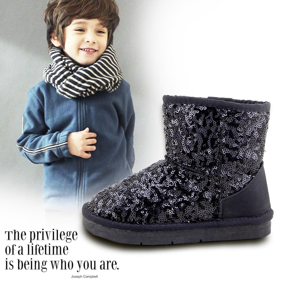 aliexpress com buy toddler boots black winter kids