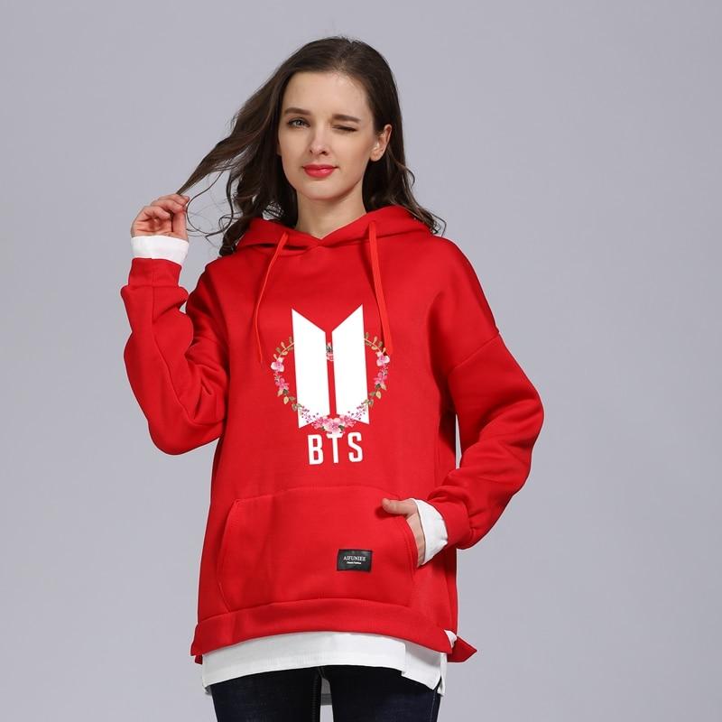 Sporty Oversized Cotton Hooded Sweatshirt For Women