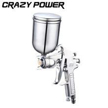CRAZY POWER 400ML Professional Pneumatic Spray Gun Airbrush Sprayer Alloy Painting Atomizer Tool With Hopper For Painting Cars