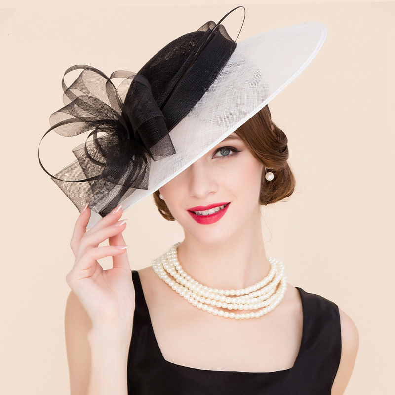 Online Buy Wholesale white church hats from China white ...