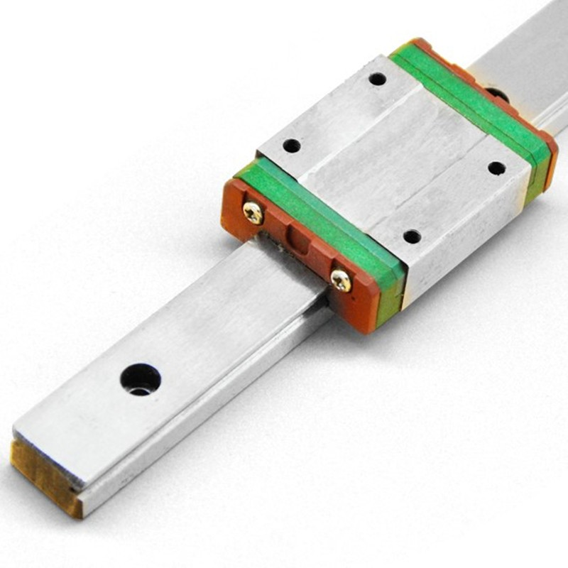 free shipping 9mm Linear Guide MGN9 L= 100/200/300/400/500mm + slide MGN9C or MGN9H Long linear carriage for CNC X Y Z Axis