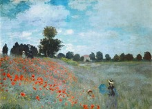 Canvas Art Picture Print Painting Monet Reproduction Abstract Landscape Canvas Oil Painting Wall Art Picture  for Home Decor selflessly wall impressionism monet wild poppy field sunrise landscape canvas painting art print poster picture painting