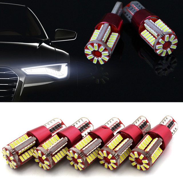 Auto Canbus T10 W5w 12smd 24smd 57smd 4014led Breedte Lamp Licht