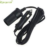 Accesorio para coche CARPRIE 12V 24V 10A  Cable de extensión para encendedor de cigarrillos 1/2/3/5m Jun.16|socket extension cord|lighter socket extension cord|lighter socket -