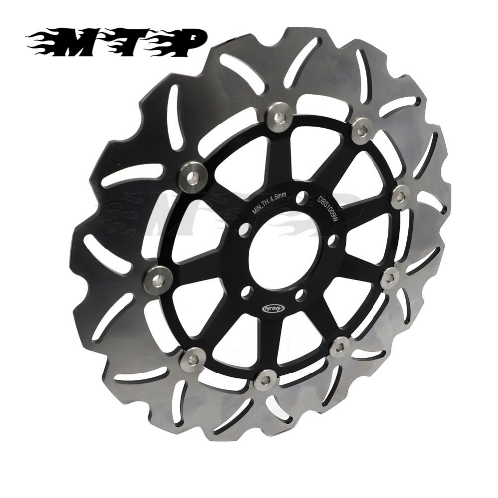 ZRX1100 ZZR1000 ZRX 1200 R S Front Brake Rotor Disc For Kawasaki 1100 99 00 ZZR 1000 90 92 ZRX1200 ZRX1200S ZRX1200R 01 06 In Disks From