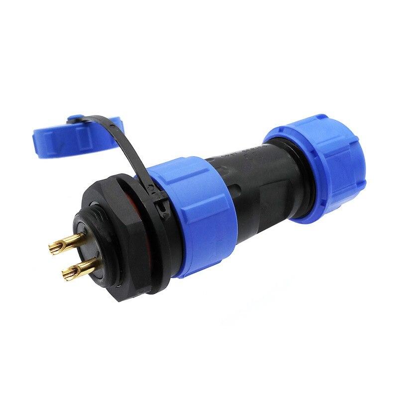 SP1710 SP1712 waterproof connector back nut plug ip68 2 pin aviation connectors sp17 3pin 4pin 5pin 7pin 9pin