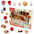 Innovative,realistic,special,DIY,best gifts,play with friends,pretend play,interest,mini,cake,cookies,afternoon tea toys set