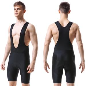 Image 2 - Женские черные велосипедные шорты, Мужская одежда для активного отдыха, велосипедные шорты Coolmax с гелевыми вставками для езды на велосипеде, велосипедные шорты