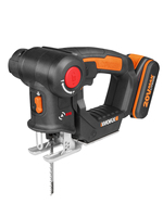 Curve saw WX550 family worx power tools woodworking lithium wire saw small multi function chainsaw