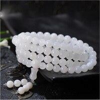 5A + Top Kwaliteit Muti Layer Natuurlijke Stenen Kralen Wit Shell Armbanden Voor Vrouwen Nationale Etnische Armband Kralen Ketting Sieraden