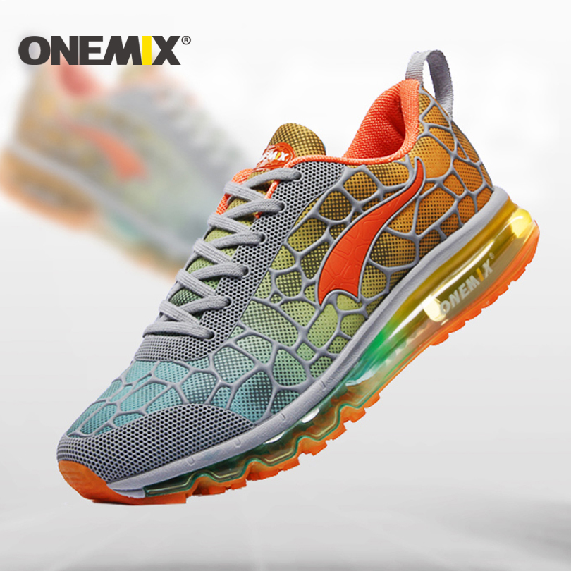 ONEMIX 2016 running shoes for man cushion sneaker original zapatillas deportivas hombre male athletic outdoor sport