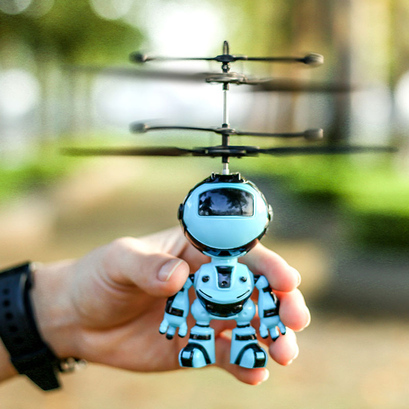 Hand Sensing Flying Robot Kids Toys  1
