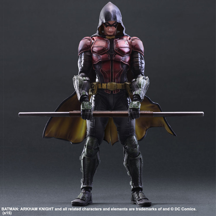 NEW hot 28cm Justice league batman Robin action figure toys collection Christmas gift doll