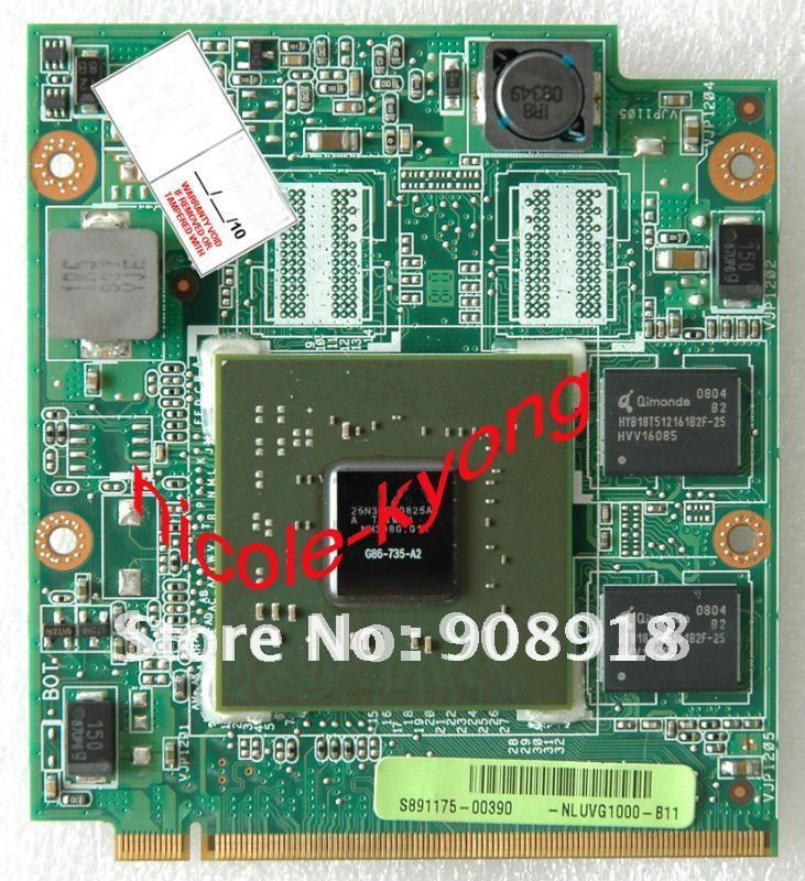 9300M G86-735-A2 NLUVG1000-B11 A8S VGA NB8P DDR2 BD 08G28AS0313Q 08G28AS0313I VGA Video card for A8S A8SG F8S F8SG Z99D