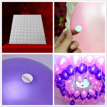 100points Balloon attachment glue dot attach balloons to ceiling or wall balloon DIY Scrapbooking stickers