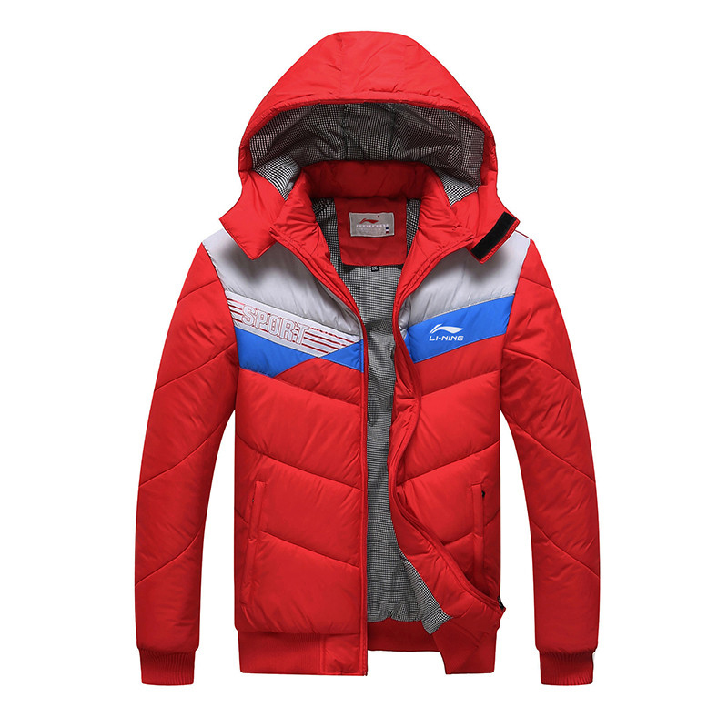Plus size L~5XL warm winter jacket men casual brand Cotton-Padded down coat slim fit Patchwork parka men clothing