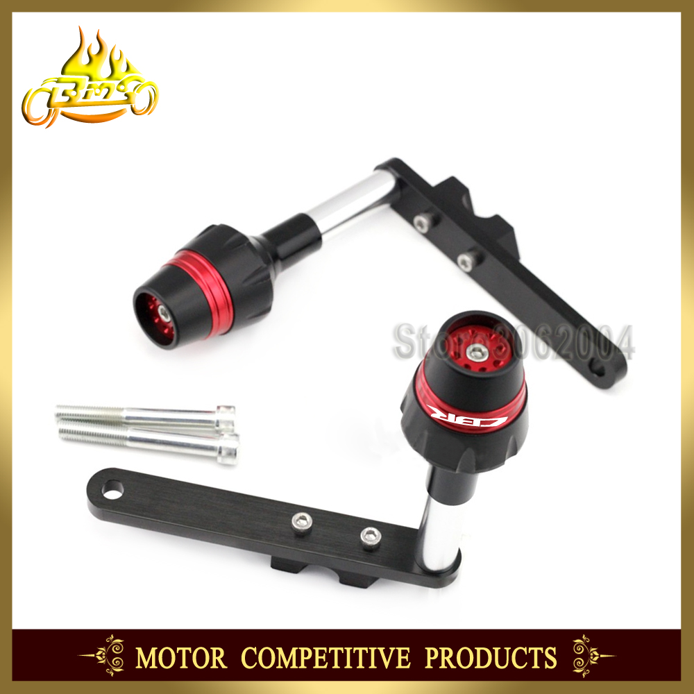 Frame Slider Crash Protector Bobbins Falling Protection Mortorcycle Hand Guard New Honda Cbr 250rr Accessories For 250r Cbr250r Cbr250 2010 2013 2012 In From