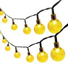 30 Led Ball Ring Light Solar Lamp Power String Fairy Lights Garlands Garden Christmas Decor For Outdoor