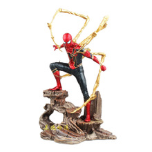 цена Marvel Avengers Spiderman Super Hero Spider-Man Action Figure Toys Collectible Doll Kids Christmas model онлайн в 2017 году