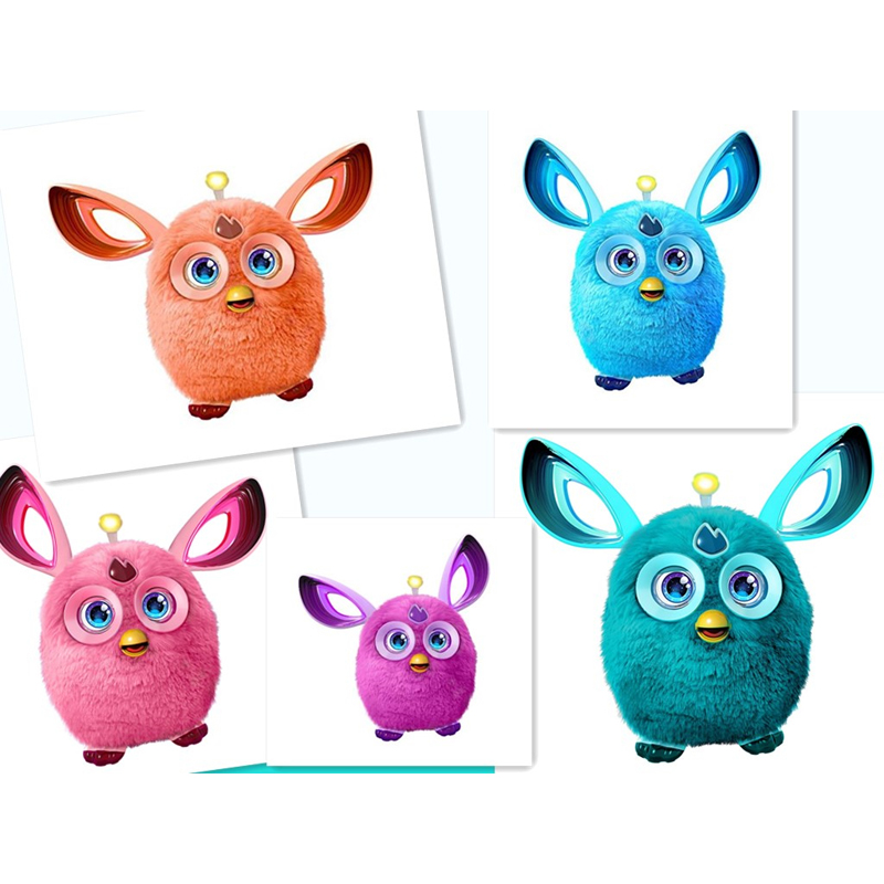 Electronic Pets 3.0 Furbiness Boom Talking APP Phoebe Interactive Pets Owl Electronic Recording Children Christmas Gift Toys(China)