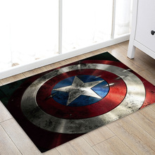 XINTOCH Marvel Toys The Avengers Plush Carpet Iron Man Captain America Batman Rug Cotton Christmas Gift for Kids Drop Shipping