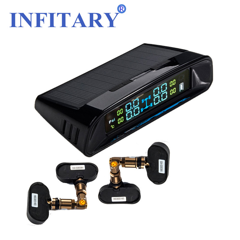 Smart Car TPMS TN400 Wireless Tire Pressure Monitoring System Monitor 4 Internal Sensors For Renault Peugeot Toyota and all car universal hotaudio dasaita built in tpms car tire pressure monitoring system car tire diagnostic tool with mini inner sensor