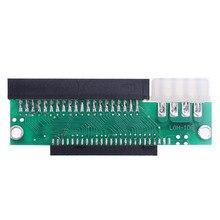 3.5นิ้ว44 Pinชาย2.5นิ้ว44ขาIDE Hard Drive Converterอะแดปเตอร์การ์ดสำหรับเดสก์ท็อปพีซีคอมพิวเตอร์