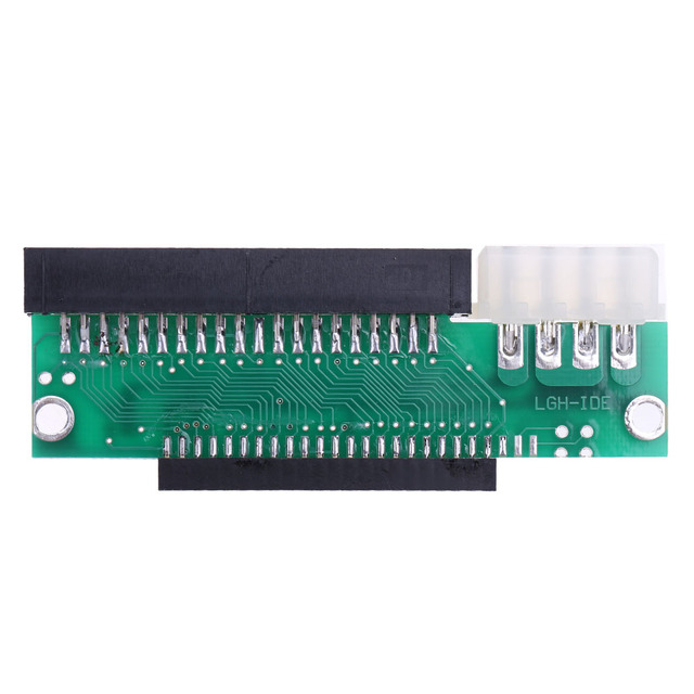 3.5 Inch 44 Pin Male To 2.5 Inch 44 Pin Female IDE Hard Drive Converter Adapter Card For Desktop PC Computer