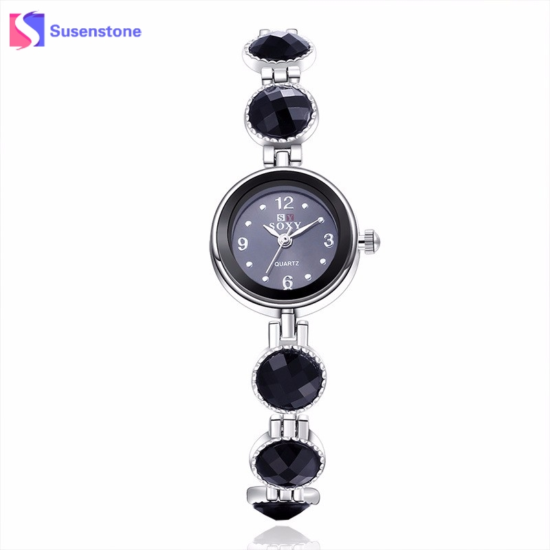 Women Watches Crystal Luxury Brand Female Clock Stainless Steel Band Analog Quartz Watch Elegant Dress Bracelet Wrist Watches