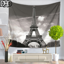 DHD Eiffelturm Tapisserie Polyester Stoff Mandala Wandbehang Dekoration Decke TischdeckeChina